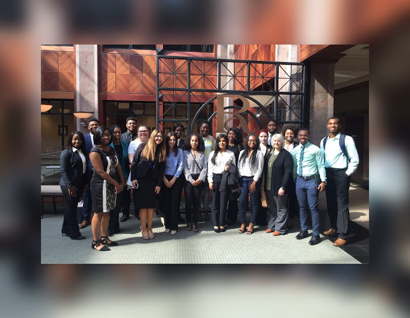 Members of the Trial Advocacy Team at The University of Akron School of Law