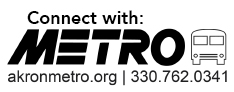 connect with metro