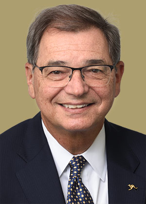 Gary L. Miller, president of The University of Akron