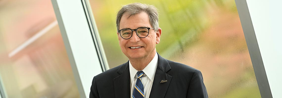 Dr. Gary L. Miller, president of The University of Akron