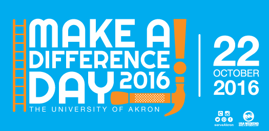 Make A Difference Day : The University of Akron