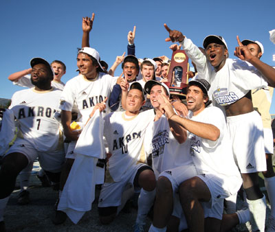 NCAA Men's Soccer Champions