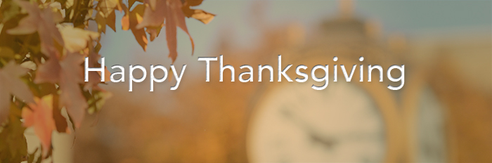 Happy Thanksgiving from The University of Akron