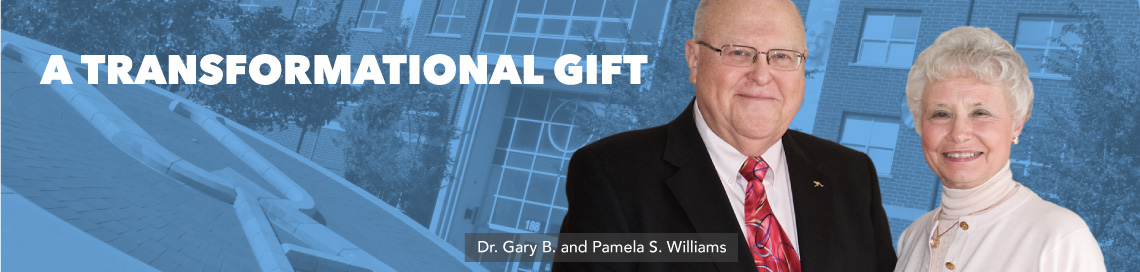 Dr. Gary B. and Pamela S. Williams