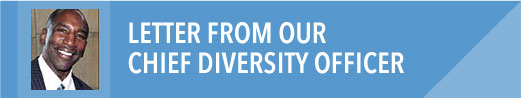 Letter from our Chief Diversity Officer