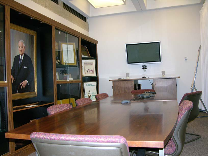 John S. Knight Distance Learning Classroom