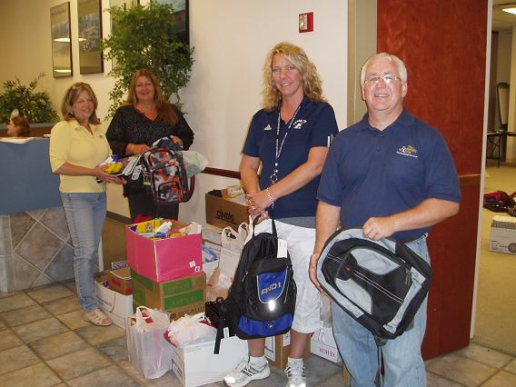SEAC 2010 School Supply Drive #2