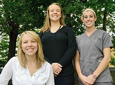 Nursing students in Akron, Ohio