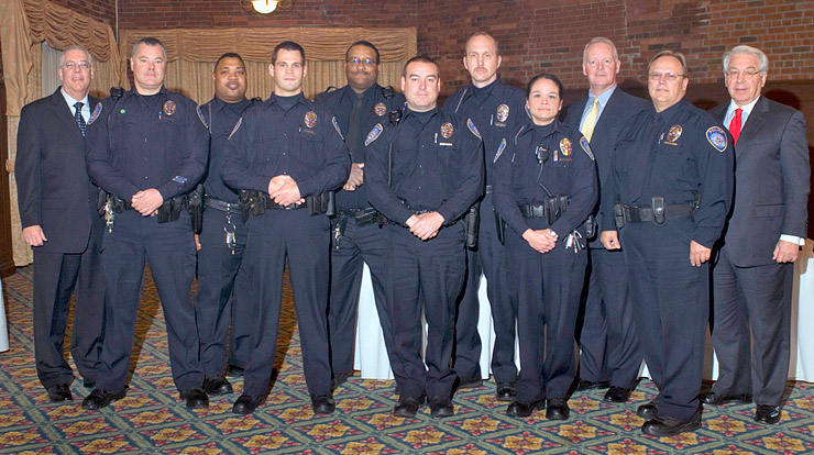 Ua Police Department Swears In 8 New Officers Ua News