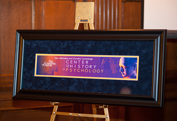 Drs. Nicholas and Dorothy Cummings Center for the History of Psychology