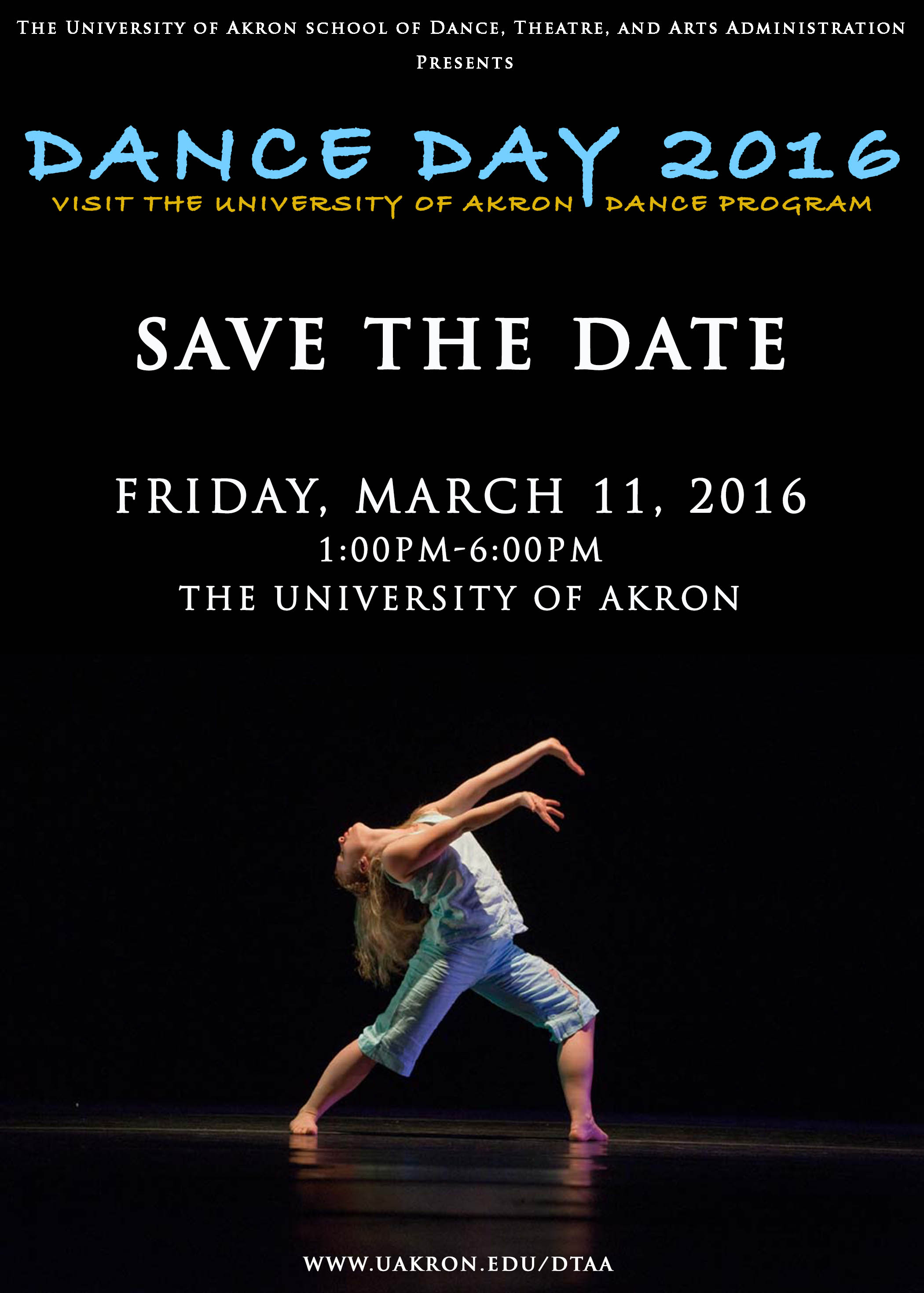 University of Akron Dance Program - Dance Day 2016