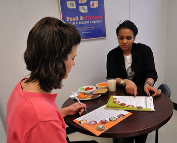 Nutrition counseling session