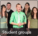 Student groups in the Honors College