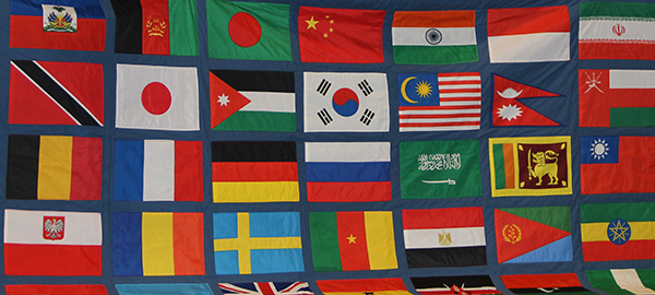 International Flag Quilt