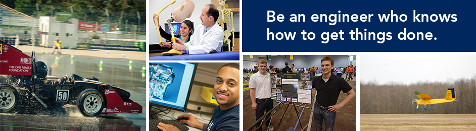 Engineering students at the University of Akron know how to get things done.