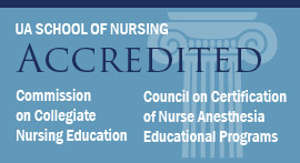 The School of Nursing is accredited