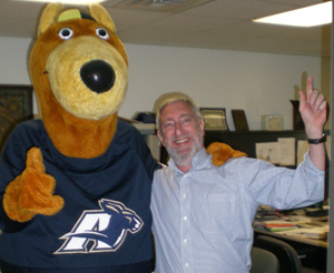 Dr. Tausig and Zippy