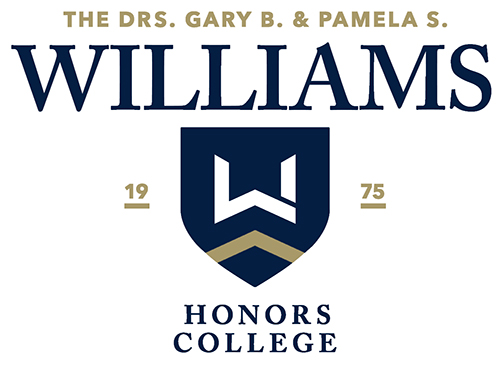 The Williams Honors College at The University of Akron [logo]