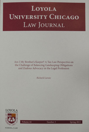 Loyala University Chicago Law Journal