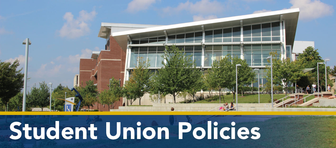 Student Union Policies Banner