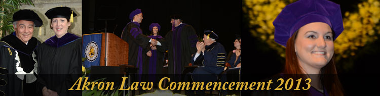 Akron Law Commencement 2013