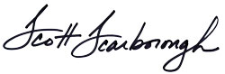 Scott Scarborough signature