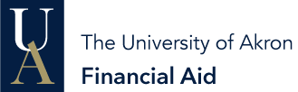 Logo for the Office of Financial Aid at The University of Akron