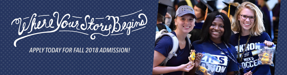 Apply now for Fall 2018 admission!
