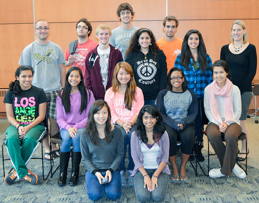 Student group in the Honors College at The University of Akron