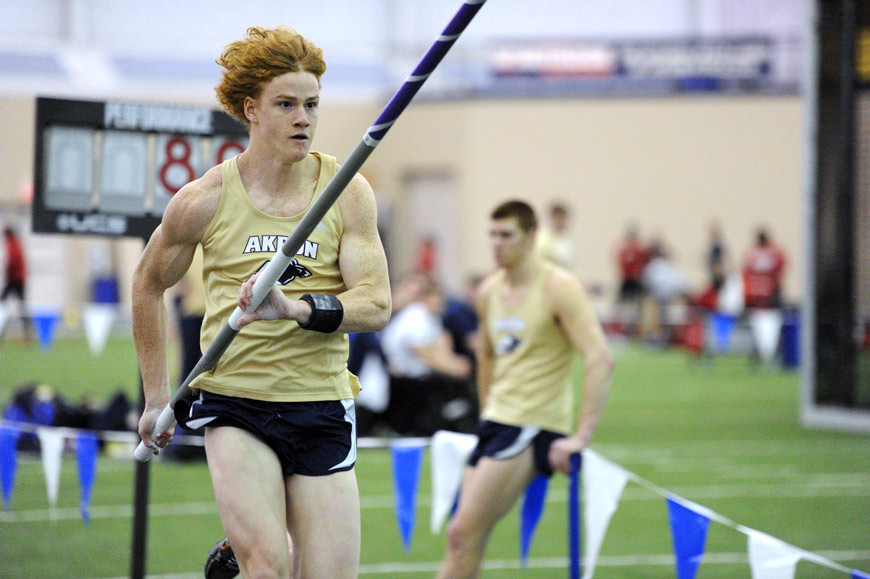 UA's Shawn Barber is a national champion pole vaulter