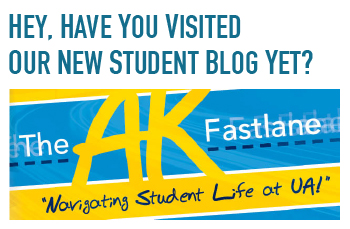 Visit our new student blog!