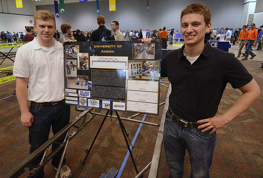2014 Steel Bridge Competition at The University of Akron
