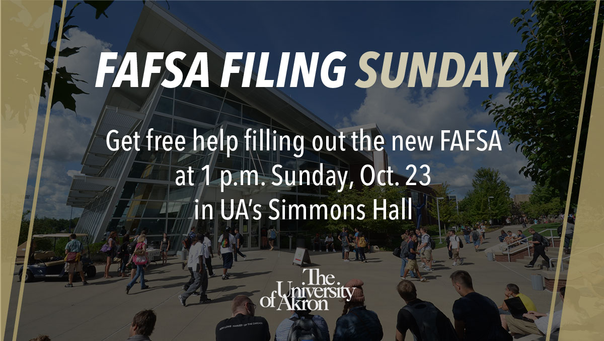 FAFSA Filing Sunday is this Sunday!