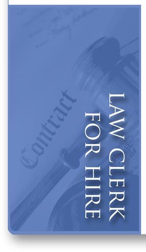 Law Clerk for Hire