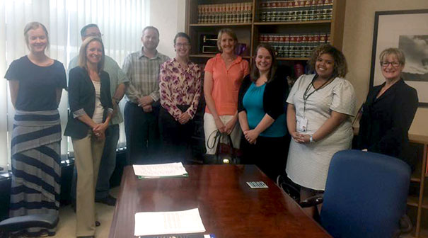Akron Law students participating in the Summer 2017 Appellate Practice Clinic