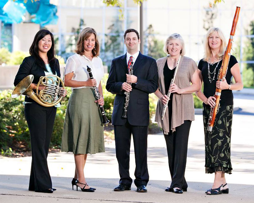 University of Akron School of Music, Assistant Professor of Horn, Dr. Margaret Tung with the Solaris Wind Quintet.