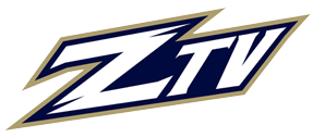 The University of Akron student run TV station, ZTV logo.
