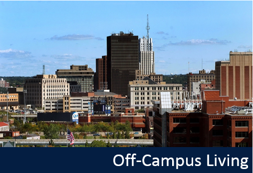 Off-campus living resources
